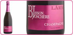 bouteille rosé brisson jonchère
