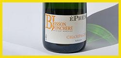 Champagne cuvée Ephémère